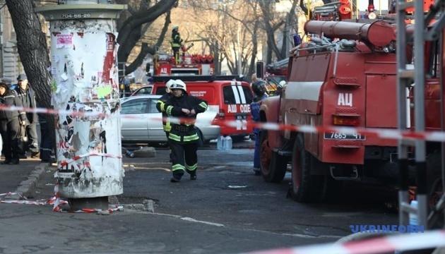 Пожежа в Одесі: директор коледжу заперечує версію про займання подовжувача