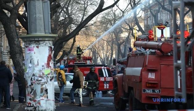 Кількість постраждалих через пожежу в одеському коледжі зросла