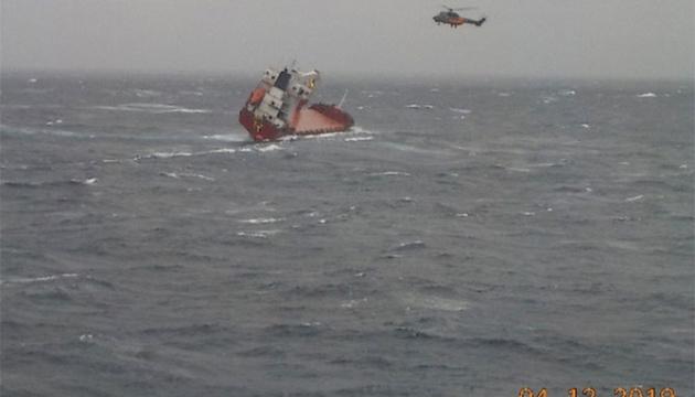 В Егейському морі зазнало аварії судно з українцями на борту