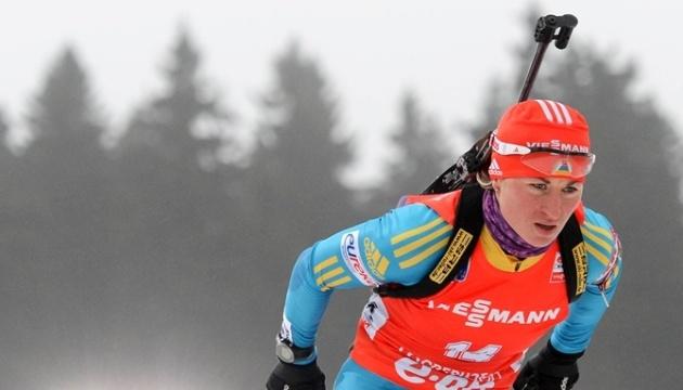 Біатлон: Валя Семеренко першою з українок розпочне індивідуальну гонку в Естерсунді