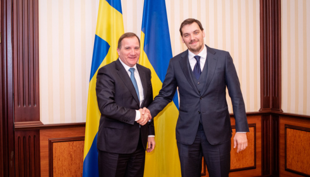 Honcharuk, Swedish prime minister discuss Nord Stream 2