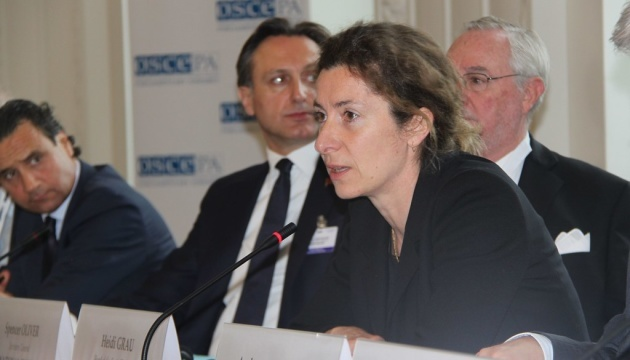Heidi Grau becomes new representative of OSCE Chairperson-in-Office in Ukraine
