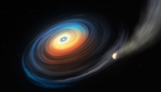 Астрономи виявили крижану планету-гіганта біля білого карлика