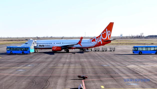 SkyUp открывает рейсы из Киева в Тирану и Лиссабон