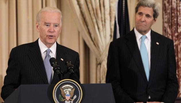 Джон Керрі підтримав Джо Байдена на виборах президента США