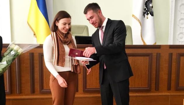Відома спортсменка стала почесною громадянкою Чернігова