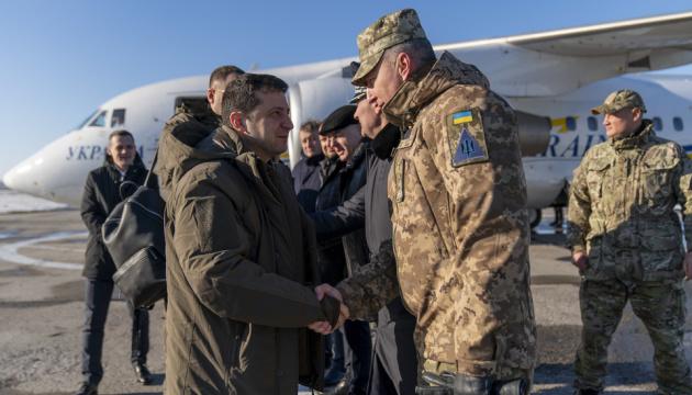 Зеленський приїхав на Донбас