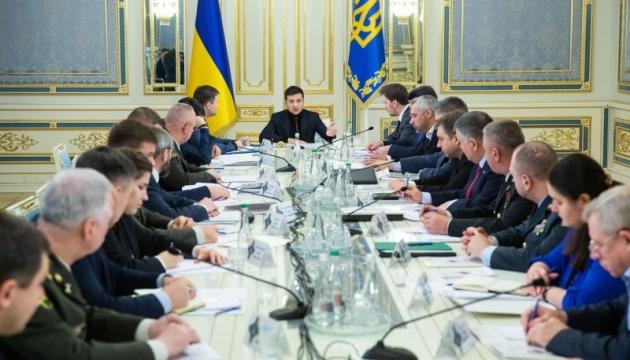 В Офісі Президента - засідання РНБО перед