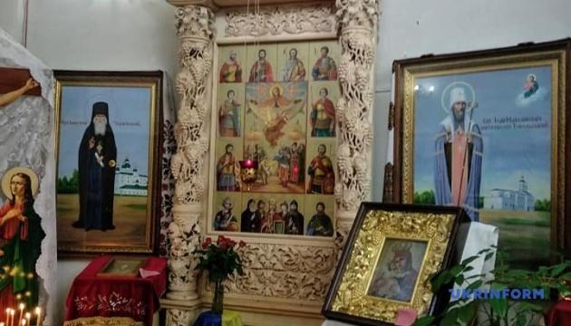Епифаний в Чернигове освятил уникальную икону Покрова Пресвятой Богородицы