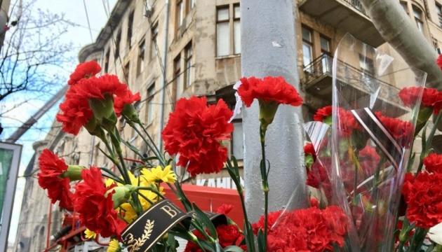 В Україні день жалоби за загиблими під час пожежі в Одесі