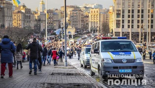Вече на Майдане собрало восемь тысяч человек - полиция