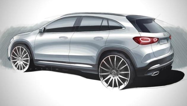 Mercedes-Benz показал дизайн нового кроссовера