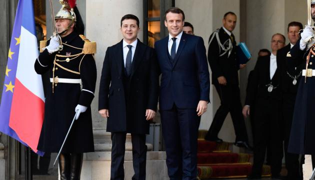 В Украину готовят визит Макрона - посол