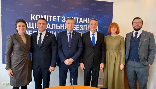 Члени безпекового комітету зустрілися з помічником Генсека НАТО