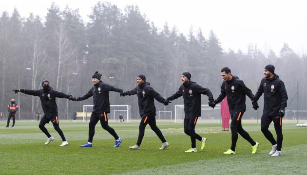 """Футболисты """"Шахтера"""" провели открытую тренировку перед матчем с """"Аталантой"""""""