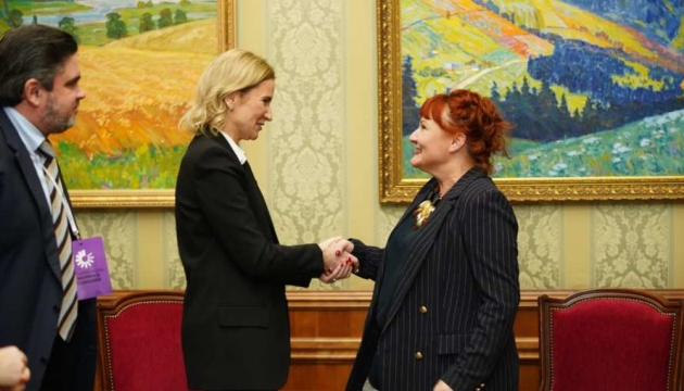 Verkhovna Rada vice speaker meets with NATO Secretary General's special envoy for women