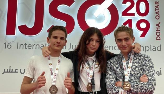 Українські школярі здобули три бронзові медалі на Міжнародній олімпіаді