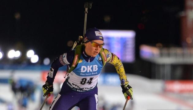 Меркушина виграла кваліфікацію у суперспринті на етапі Кубка IBU в Ріднау
