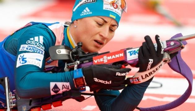 Валя Семеренко стартуватиме першою в спринті в Гохфільцені