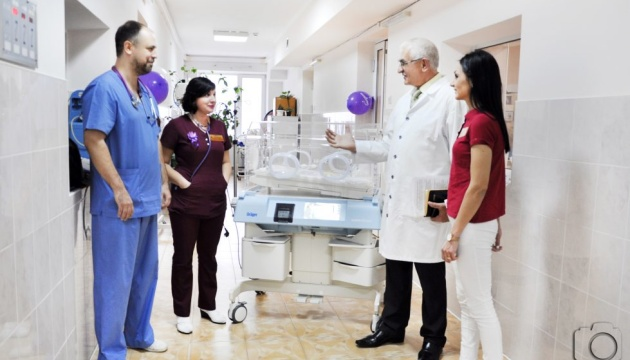 Больница Черновцов получила жизненно важный препарат для преждевременно рожденных детей