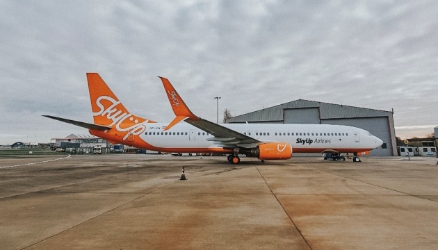 SkyUp в этом году планирует открыть 30 новых рейсов