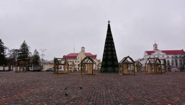 У Чернігові в новорічному містечку заборонили використовувати коней та віслюків