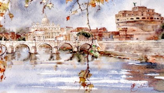 «Українську палітру Італії» представили на виставці в Римі