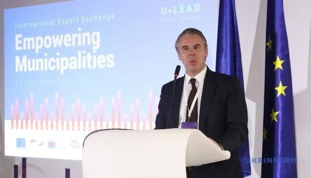 ЄС продовжуватиме фінансування Програми «U-LEAD з Європою» - Куне