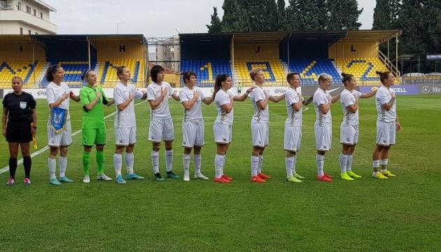 Украина потеряла позиции в обновленном рейтинге ФИФА женских сборных