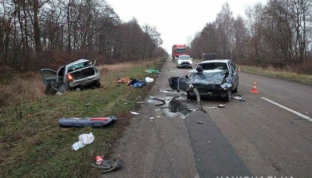 На Чернігівщині зіткнулися легковики — троє загиблих