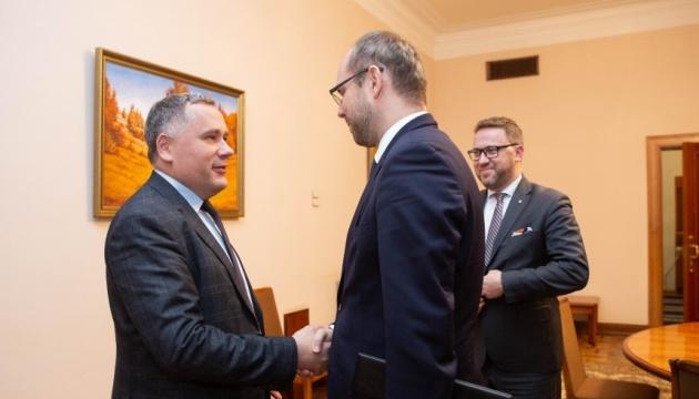 Заместитель руководителя ОП встретился с заместителем госсекретаря МИД Польши