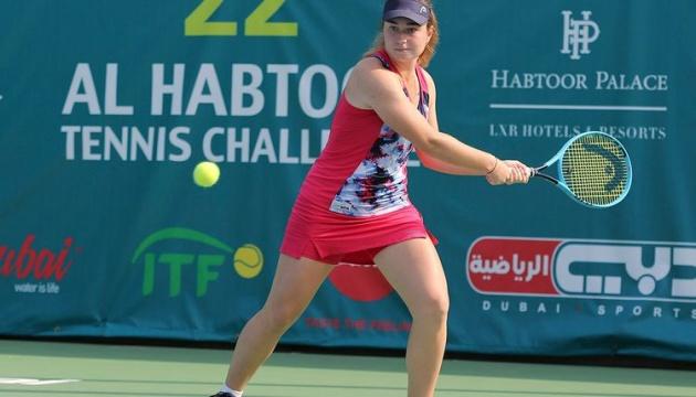Украинка Снигур проиграла финал турнира ITF в Дубае