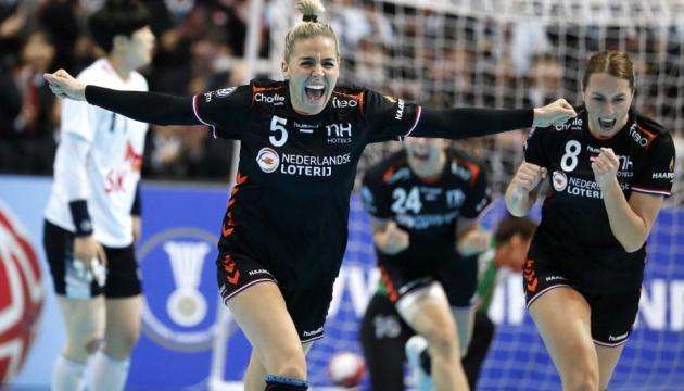 Сборная Голландии впервые выиграла женский чемпионат мира по гандболу