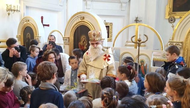 Cвятий Миколай завітав до дітей у Варшаві
