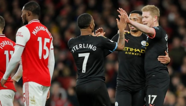 АПЛ: «Ман Сити» обыграл «Арсенал», Зинченко вышел на замену