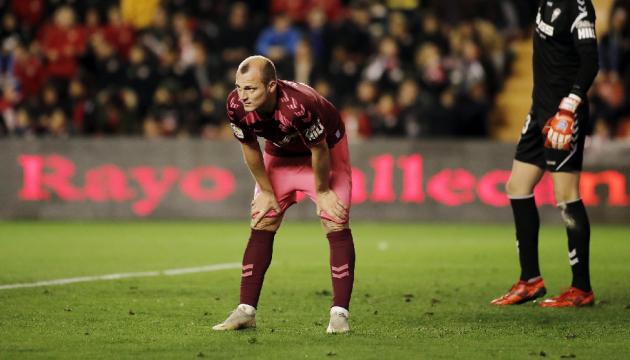 Фанати ображали українського футболіста Зозулю і зірвали матч в другому дивізіоні Іспанії