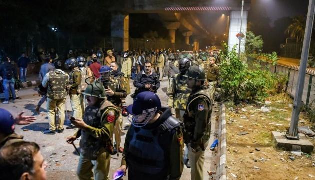 У Нью-Делі під час сутичок поранили 70 студентів
