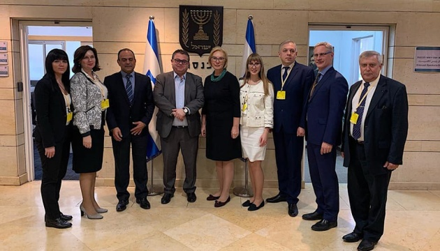 Денісова обговорила в Єрусалимі ратифікацію угоди про соцзабезпечення