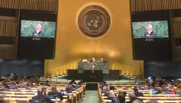 Реінтеграція Донбасу: Коляда розповіла в ООН про першочергові завдання