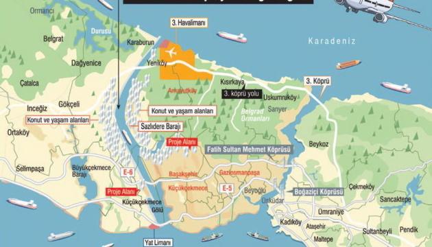 У Туреччині порахували майбутні прибутки від каналу