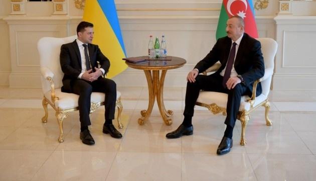 Na spotkaniu Zełenskiego i Alijewa podpisano szereg umów