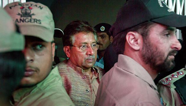 Експрезиденту Пакистану скасували смертний вирок