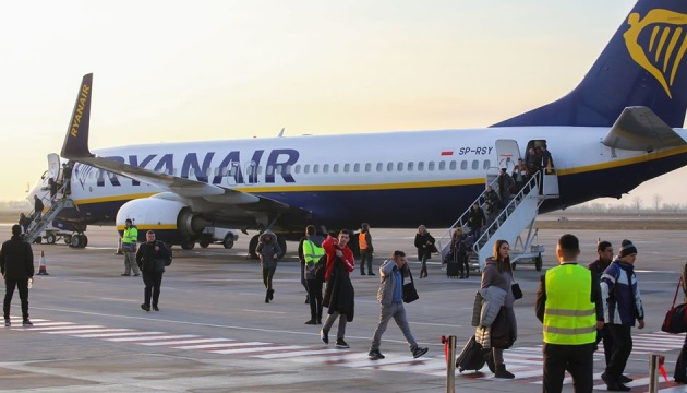 Ryanair to launch two new flights from Odesa