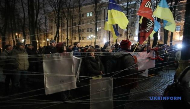 В Харькове более тысячи человек вышли в поддержку Антоненко