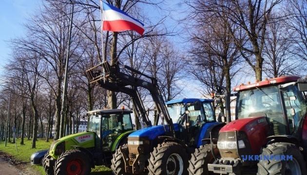 У Нідерландах мітингують фермери