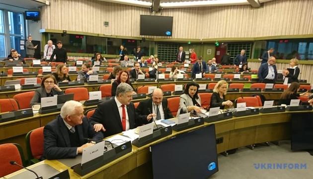 ЄС має ініціювати нову програму допомоги Україні для проведення реформ – Порошенко