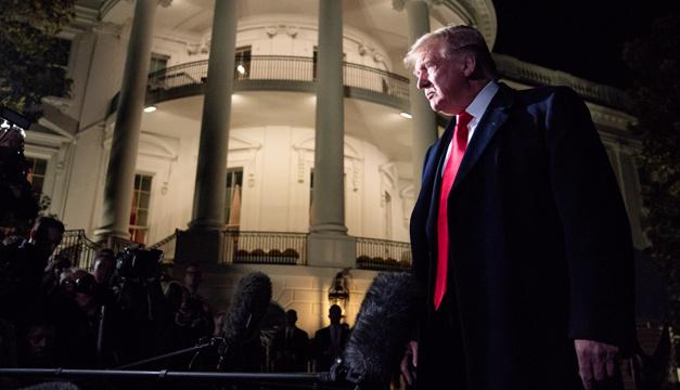 Трамп вновь заявил, что не признает поражение на выборах в США