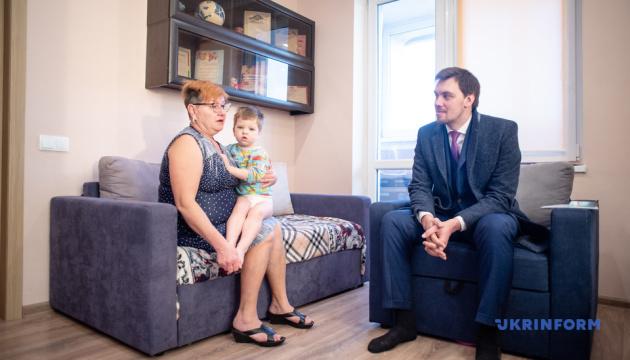 Гончарук та Соколовська відвідали два дитбудинки сімейного типу