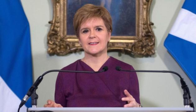 Лидер Шотландии написала Джонсону - просит референдум о независимости