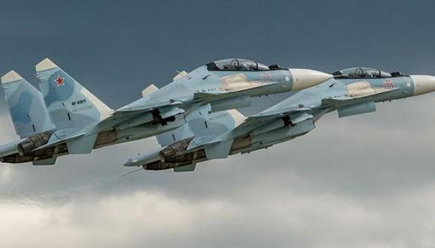 Авіація РФ провела навчання з бойовими стрільбами у Криму